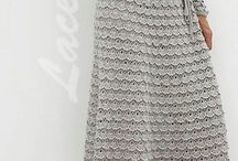 Crochet Dresses and Skirts