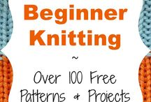 Easy-Peasy and Beginner Knits / Just starting out? Need a break from lace or fair isle? Check out what we found!