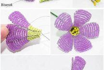 korálkové (hačkované )kvety