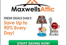 Maxwells Attic Coupon Code / Save money at Maxwells Attic with these latest Maxwells Attic coupons, Maxwells Attic coupon code and free Maxwells Attic discount codes. Maxwells Attic Special offers, Maxwells Attic coupon codes and hot deals for your online Shopping.