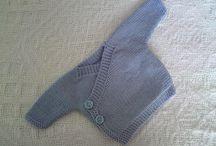 Baby knitting patterns / Kimono jumper