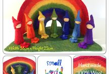 Small world play sets / small world play