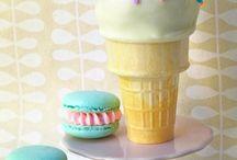 Macaron and Icecream❤️