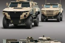 mobil concept militer