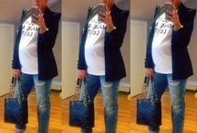 My Style While Expecting / by Christina Rosario