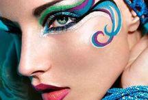 maquillaje artistico ojos