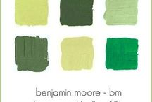 paint colors / by Moira Gavin