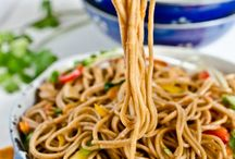 Soba noodles / Stir fried