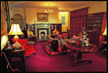 Inside Myres / The castle is a family home and therefore offers a genuinely warm and relaxed atmosphere, with attentive but discreet service. When we let the castle on an exclusive use basis, it becomes your home for the duration of your stay and we can really look after you in style.