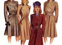 Pukeutumista klassisesti. / Klassisen kauniita naisia, tyyliä jota rakastan. 1840-1900-lukujen uusrokokoo ja artistinen tyylisuuntaus, ja myöhemmin 1930-1960-lukujen naisellinen, klassinen pukeutuminen (ennen feministien housuvallankumousta) ovat rakkautta.