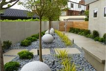 Narrow garden ideas