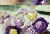 çikolata çiçekleri