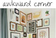 Awkward corner