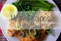 LUNCH + DINNER / Kara Larkin's Lunch + Dinner Recipes    Chicken, Fish, Beef, Pasta, Pizza, etc.
