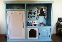play kitchen for children