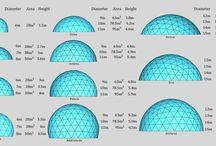 Biodomes - Geodesic domes