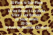 Cheerleading Fitness / Cheerleading Fitness ideas and workouts! #Cheerleading #Cheer #cheerfitness