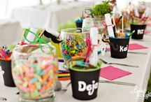 Kids table / by Amber Wyrick