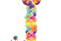 Balloon columns for partied