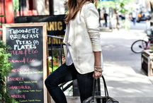 How to Style Blazers and Soft Jackets / How to style basic, colored and patterned blazers for work or weekend