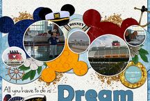 Disney scrapbooking / How to scrapbook your Disney Vacation, as well as fun some fun and awesome ideas on what to do with your Disney photos