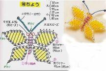 Korálky motýl