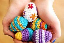 Pâques   Easter / Décorations, doudous, amigurumis pour Pâques