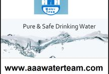 Water softening / With over 30 years experience, AAA Water Team technicians can handle any water purification job.