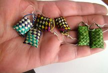 Weaving - Raranga / My favourite Maori/Polynesian woven pieces using traditional and contemporary methods