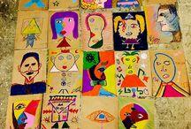 İbrahim Turhan Anadolu Lisesi resim çalışmaları
