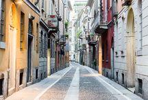 Brera - Mailand, Italien / Dolce Vita lässt sich in Mailands Altstadtviertel Brera wunderbar leben. Es ist spontan und geruhsam, volkstümlich und nobel