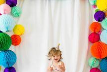Birthday party ideas / Birthday girl boy toddler fun home diy creative fun games