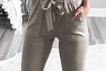 pantaloni casuel