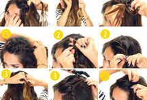 Hairstyles  / Cute, fun, easy hairstyles to look Tumblr. AF