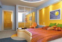 Detská izba / Inšpirácia dekoratívnych náterov do destkých izieb pre radosť vašich detí.