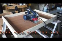 Table  &  Panel & Miter saw