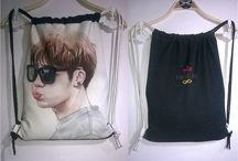 DRAWSTRING/SLING BAG #INFINITE / created by ratnayeol / Little Lumut (online STORE) Welcome to our Store! and happy shopping...^__^ **Note: Prices subject to change without notice >> tokopedia.com/littlelumut choose fanart on IG: fanart.96