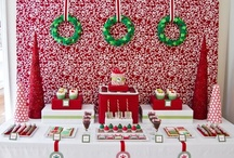 Christmas Party Tables