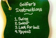 Golfing Sayings