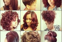 Natural styles for my mini / by Tawania Deburr