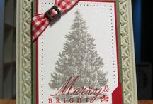 craft  - Cards - Christmas / Christmas and Winter cards, mostly Stampin Up supplies