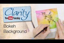clarity stamp tutorials