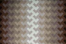 Coleção MacTalents para Santa Mônica / Em parceria, Santa Mônica e MacTalents, 5 designers desenvolveram modelos de tapetes que levaram seus nomes na nova coleção.
