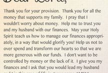 Prayer over finance
