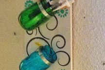 Mason Jars and Bottles