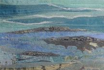 At the beach - Alevel Textiles