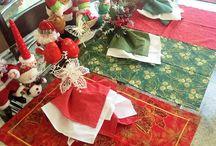 Acessorios de mesa / Acessórios para vestir a mesa com elegância e charme.