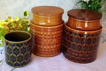 Retro Hornsea pottery