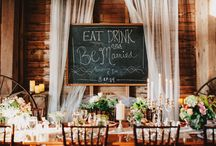 Bohemian Decor~Wedding Ideas / by The Stuart Rental Company