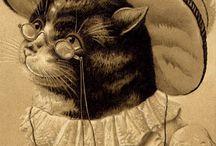 Портреты / Портреты кошек и собак в одежде